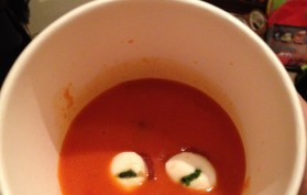 Bloody Eyeball Soup