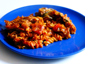 Low-fat Turkey Mince Pasta Bake
