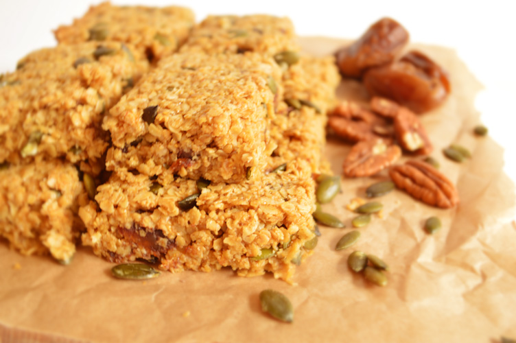 Fruit and Nut Flapjack | Mutherfudger |