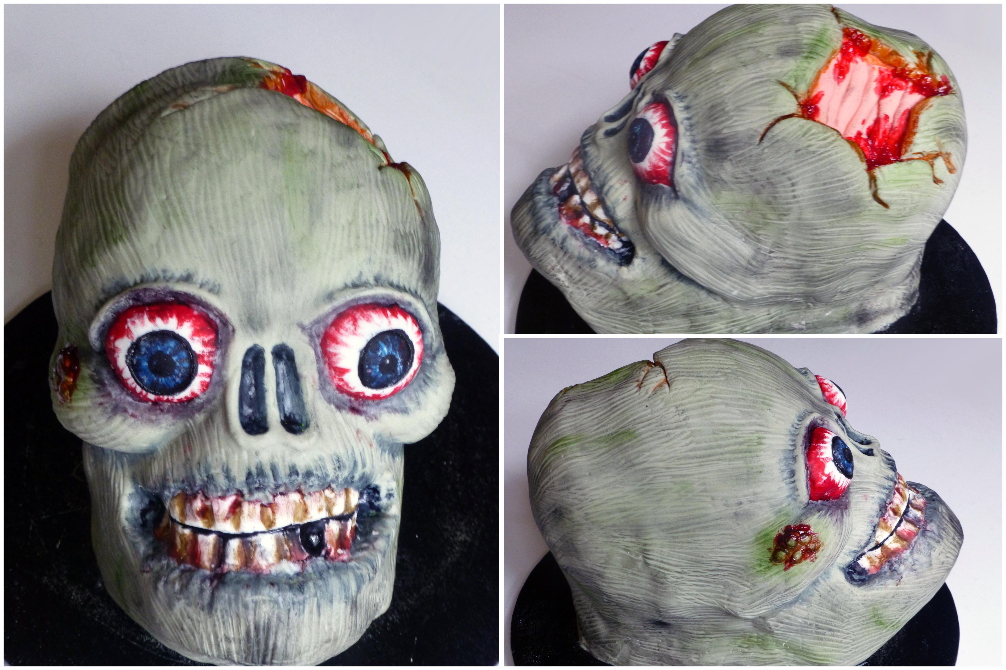 Zombie Head Cake Mutherfudger