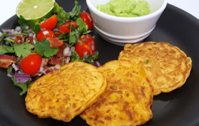 spice sweetcorn fritters