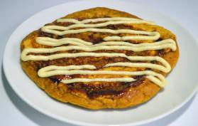 Cinnamon Roll Pumpkin Pancake