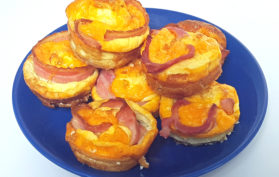 cheesy bacon and egg cups