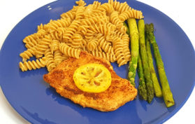 Lemon Pepper Chicken with Asparagus