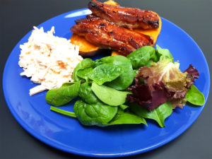 Teriyaki Pork Belly and Sweet Potato