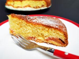 Cinnamon and Plum Cake