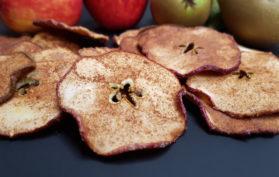 Apple Pear Crisps