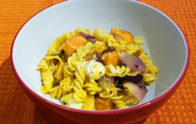 Roasted Pumpkin and Feta Pasta