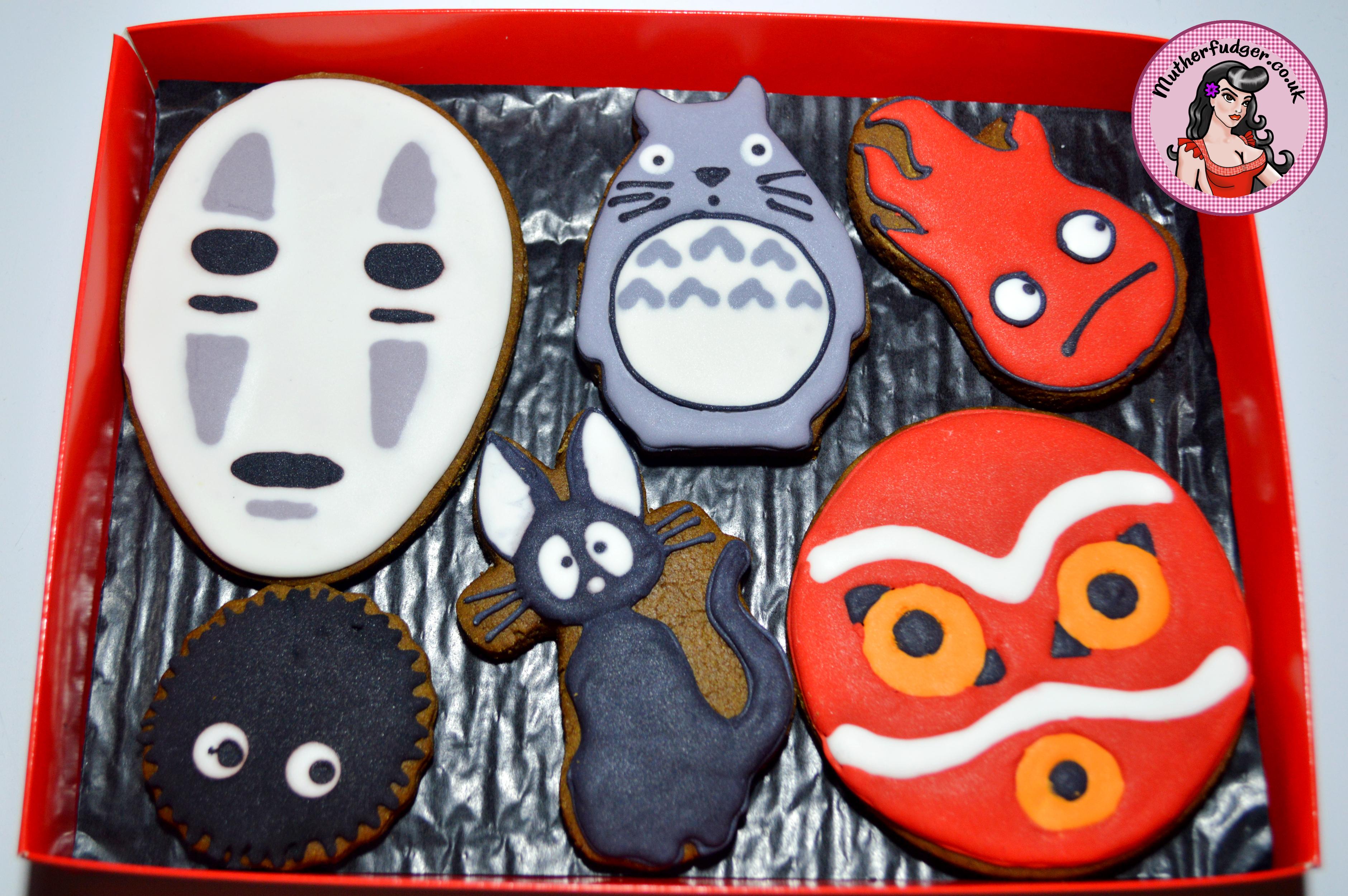 Studio Ghibli cookies