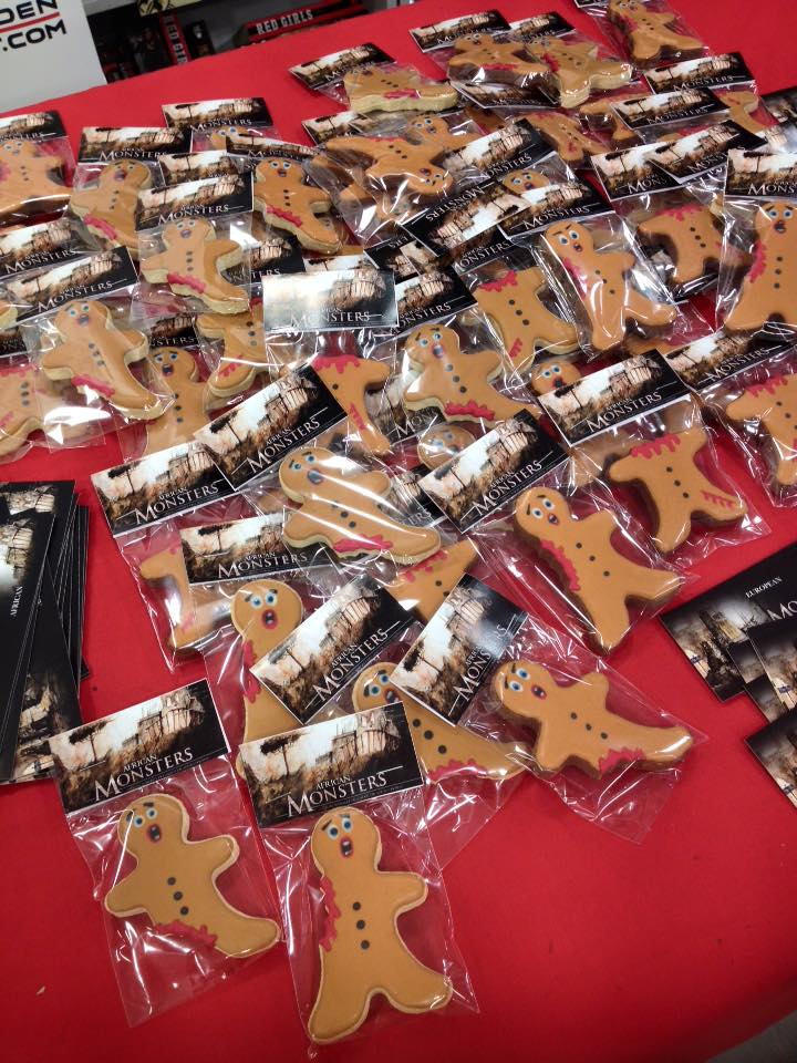 Horror Gingerbread Men