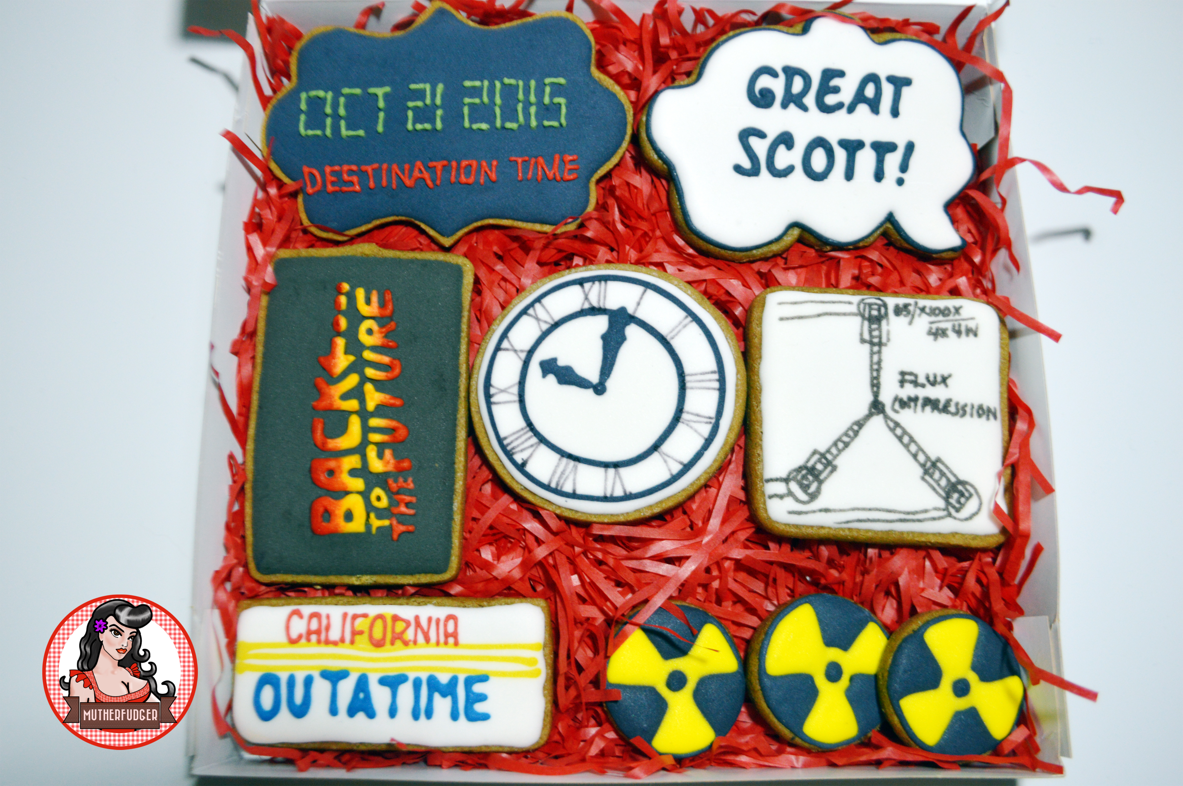 Back To The Future Cookies full set