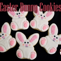 2014 Easter Bunny Cookie