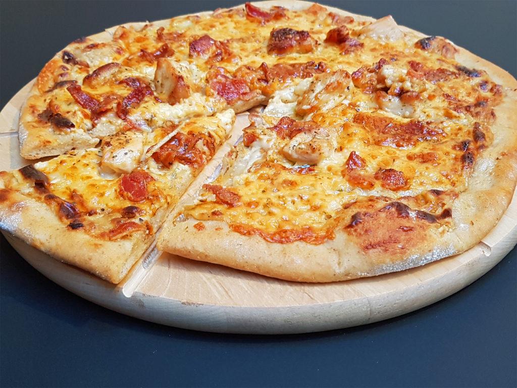 Chicken Carbonara Pizza Mutherfudger